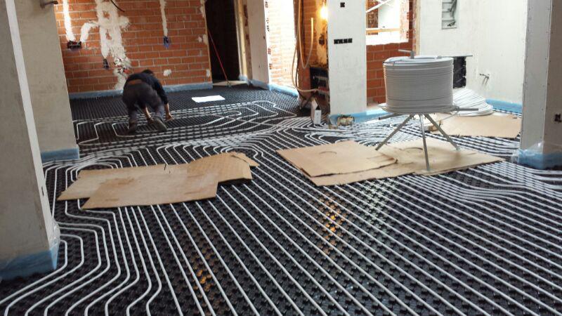 Instalaci n de suelo radiante fondecor - Instalacion suelo radiante ...