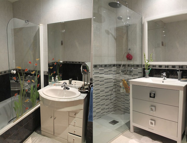 Sustitución bañera por plato