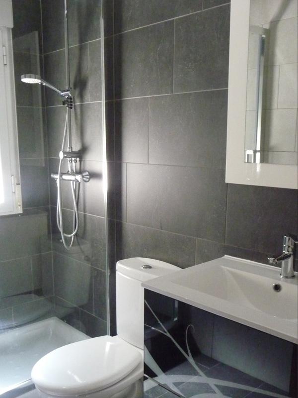 Baño blanco y negro | fondecor