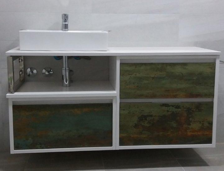 Baño mueble óxido