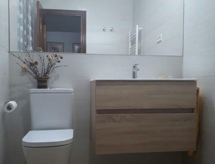 Reforma baño madera